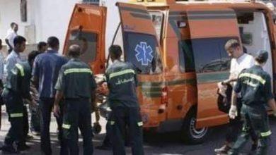 صورة مصرع طالبة وإصابة4 آخرين في حادث إنقلاب سيارة بمركز ملوى بالمنيا
