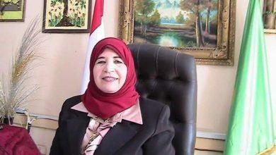 صورة تعيين الأستاذة هناء جمال بمنصب عضو الهيئة العليا لحملة دعم الدولة وتأييد الرئيس