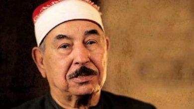صورة وفاة الشيخمحمد محمود الطبلاوى بعد صراع مع المرض عامين