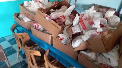 صورة جمعية سنابل الخير بنصرالنوبة بأسوان توزيع اللحوم على الأسرالفقيرة بالتعاون مع جمعية الأرومان الخيرية