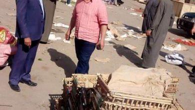 صورة نصر يسلم أرض محطة الصرف الصحى بالفرايحة لمهندسو قطاع الصرف