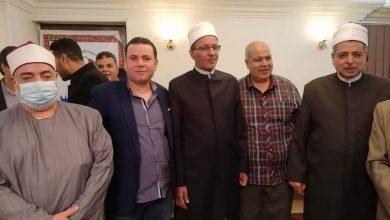 """صورة حزب النصر يكرم """" الطيب """" و"""" هاشم"""" عيد إنشاء المشيخة"""