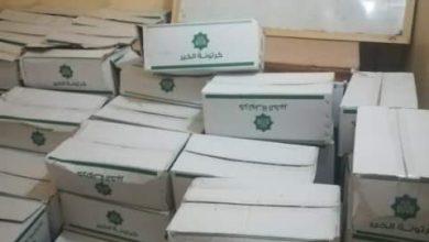 صورة قلاش لتنمية المجتمع بتوشكى غرب بالتعاون مع مؤسسة الخير بأسوان توزع (200) كرتونة مواد غذائية و(150) دجاج للأسرالأكثر احتياجا