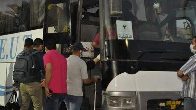 صورة 1000 مواطن مصري يغادرون الحجر الصحي بجامعة المنيا بعد اتمام فترة الحجر