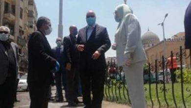 صورة حملة مكبرة بحي السيدة زينب بأشراف محافظ القاهرة