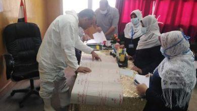 صورة خطة جديدة لمواجهة كورونا بمستشفى أولاد صقر المركزى