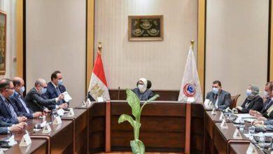 """صورة وزيرة الصحة توجه بزيادة إنتاج الأدوية خاصة """"أدوية المناعة"""" وضخها بالصيدليات للمواطنين"""