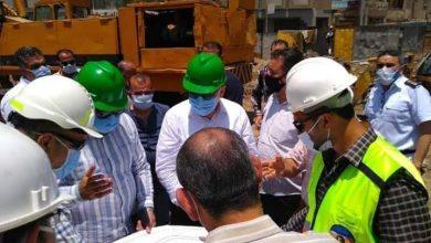 صورة غراب يتفقد محطه السكك الحديديه ويتابع تنفيذ عدد من المشروعات بمدينه الزقازيق