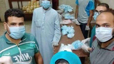 صورة بالجهود الذاتية شباب قرية الشيخ حسين بالمنيا تواجه فيروس كورونا