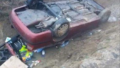صورة نجاة رئيس الجالية المصرية فى بولندا من حادث مروع
