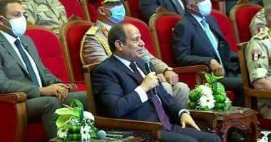 صورة الرئيس عبدالفتاح السيسي: ثورة 30 يونيو قضت على كل محاولات البعض المستميتة لطمس الهوية الوطنية