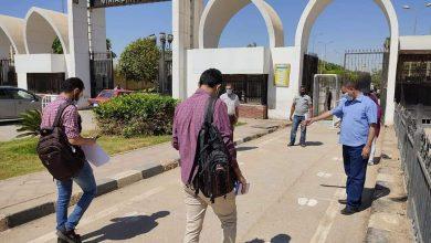 Photo of اجراءات احترازية مشددة بجامعة المنيا وحملات تطهير وتعقيم مع بداية الامتحانات العملية