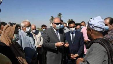 صورة اشرف الداودي يتفقد احول مركز ابوتشت