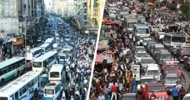 صورة الصحه.قام نائب وزير الصحه والسكان بالكشف عن ثلاثة نصوص لعدد سكان مصر.