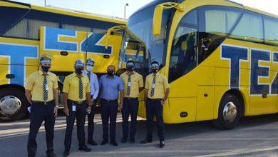 صورة بالصور استقبال تيز تور العملاقة اولى طائرتها السياحية بمطار شرم الشيخ