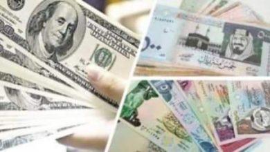 صورة أسعار العملات اليوم أمام الجنيه المصرى