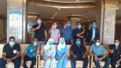 صورة لأول مرة ..تسجيل صفر إصابات اليوم بنزل الشباب الدولية بمدينة الطود بالأقصر
