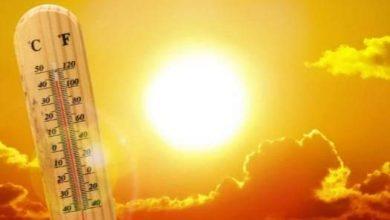 صورة درجات الحرارة المتوقعة خلال ال48 ساعة القادمة