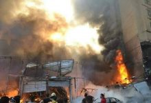 Photo of نشوب حريق هائل في منازل بمركز دراو في أسوان