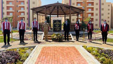 صورة بحضور رئيس الجمهورية طلاب جامعة عين شمس يشاركون في إفتتاحات المشروعات القومية