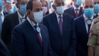 Photo of الرئيس السيسي يشهد افتتاح مصنع غزل والنسيج بالروبيكي