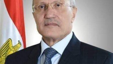 صورة الرئيس السيسي ينعي اسرة الفريق العصار وزير الإنتاج الحربي في وفاتة