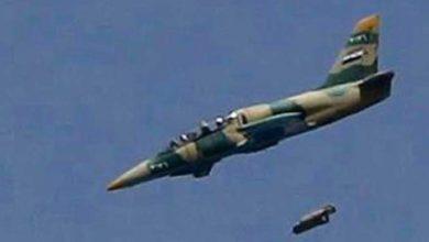 صورة غارات جوية تدمر قواعد الدفاع الجوي التركي بليبيا