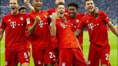 """صورة """"البايرن"""" دوري أبطال يضمن بطاقة التأهل لربع نهائي أوروبا"""
