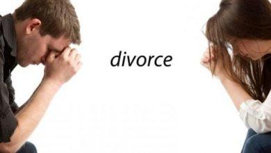 صورة الطلاق وآثاره على الرجل