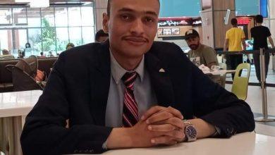 صورة أمين شباب الناصري المنيا .. يشيد بجهود الدولة لإقامة المستشفى الميداني المصرى فى بيروت