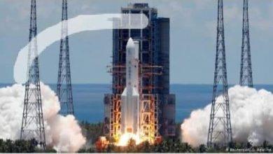 """صورة """" انطلاق احدى الدول باول بعثه الى المريخ """""""