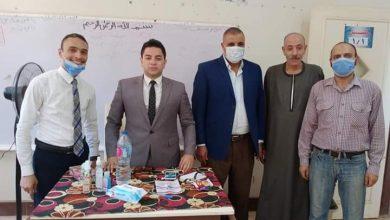 صورة أمين شباب الناصري بالمنيا يتفقد اللجان الانتخابية بعدد من دوائر المحافظة