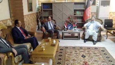 صورة سفير مصر في كابول ووزير الشئون الدينية يبحثان سبل تطوير مجالات التعاون المُشترك