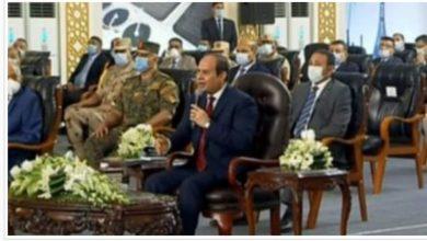 """صورة الرئيس """"السيسي"""" يشكر بجهود وزير التموين بتوافر السلع أثناء أزمة """"الفيروس الشائع"""""""