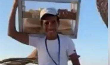"""صورة مفاجأة وزير التعليم العالى للطالب"""" بائع الفريسكا"""""""