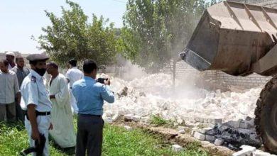 صورة محليات بنى خالد وشوشة بسمالوط يشنون حملة لإزالة التعديات علي الأراضي الزراعية