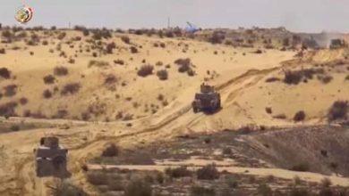 """صورة تدمير 317 مخبأ إرهابياً على يد القوات المسلحة بأرض """"سيناء"""""""