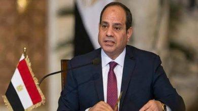 صورة رسالة الرئيس السيسى للشعب المصرى اثناء افتتاح مشروعات بالاسكندرية