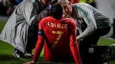 "Photo of الشكوك تحوم بشكل كبير حول مشاركة النجم كرستيانو رونالدو اليوم مع "" البرتغال ""."