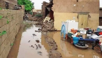 صورة كوارث فيضانات السودان ما بين ضحايا وانهيارات