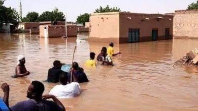 صورة كوارث تطرق ابواب السودان