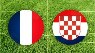 """صورة منافسة صعبه بين """" فرنسا و كرواتيا """" في دوري الأمم الأوروبية"""
