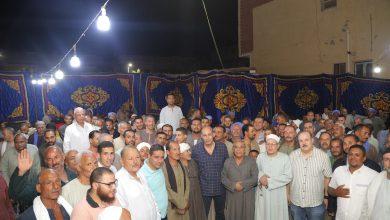 صورة بالصور أهالي صفط الشرقية يحتشدون لمطالبة العميد هشام بشر بالترشح في برلمان 2021