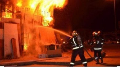 صورة السيطرة على حريق انفجار بوتاجاز داخل منزل بالقليوبية