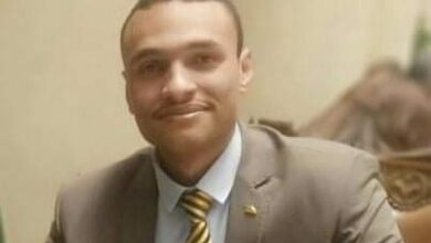 صورة أمين شباب الناصري بالمنيا ينعي بأشد العبارات أبطال الشرطة شهداء حادث سجن طرة