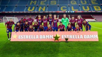 صورة برشلونة بطل كأس خوان غامبر للمرة ٤٣ في تاريخه
