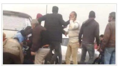 صورة مقتل شخص في حادث تصادم بمدينة نصر