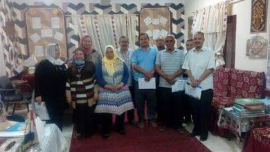 """صورة """"هيبة""""تكرم مجلس أمناء مدرسة صلاح سالم الثانوية للبنين بالفيوم"""