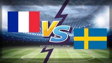 """صورة ملعب """" فريندز ارينا """" يشهد مباراة نارية بين منتخبي فرنسا ، والسويد"""