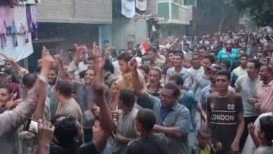 صورة مسيرة تأييد للأسد في إنتخابات النواب بملوي
